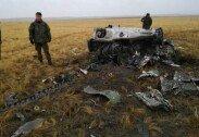 러시아서 훈련중 공중에서 장갑차 2대 추락하는 사고… 푸틴 반응?