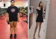 '뚱뚱해 싫어', 남친 이별 통보에 늘씬하게 변신한 여성