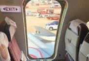 만취한 승객이 비행기 비상문 뜯어내… 탈출용 슬라이드까지