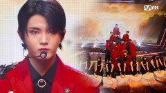 웅장한 'KINGDOM(킹덤)'의 'KARMA' 무대   Mnet 210715 방송