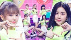 'woo!ah!(우아!)'의 청량 에너지! 'Pandora' 무대   Mnet 210715 방송
