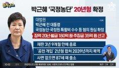박근혜 '국정농단' 20년 형 확정…文, 고심의 시간