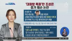 '대화방 폭파'한 조성은…증거 훼손 논란