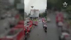 中, 시장서 가스폭발로 150명 사상…연쇄 가스 폭발 의심