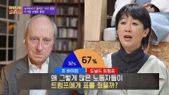 많은 노동자들이 트럼프에게 표를 던지게 만든 '동질감'   JTBC 210204 방송