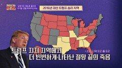 트럼프 지지 지역에서 빈번하게 나타난 「절망 끝의 죽음」   JTBC 210204 방송