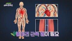 '제2의 심장'이라 불리는 건강의 척도 '종아리'의 역할   JTBC 210724 방송