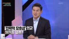 '전략적 모호성'외교 여전히 유효? | KBS 210424 방송