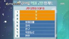 대국민 토크쇼 안녕하세요 최종 결산 앙케트!