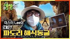 자연이 빚어낸 예술작품 '파도리 해식동굴'   KBS 210302 방송