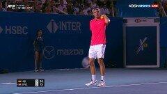[ATP500 멕시코 오픈 결승 - 나달 vs 프리츠] 치열한 접전 끝에 동점 만든 프리츠
