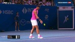 [ATP500 멕시코 오픈 결승 - 나달 vs 프리츠] 곧바로 따라붙는 프리츠