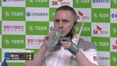 서현민 vs 쿠드롱 1세트 [TS샴푸 PBA 챔피언십 8강]  KBS N Sport 201005 방송