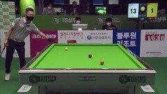 서현민 vs 마민캄 1세트 [TS샴푸 PBA 챔피언십 16강]  KBS N Sport 201005 방송