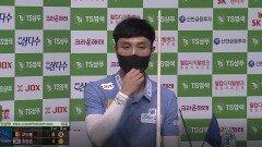 최원준 vs 쿠드롱 1세트 [TS샴푸 PBA 챔피언십 16강]  KBS N Sport 201005 방송