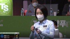 이유주 vs 김세연 1세트 [TS샴푸 LPBA 챔피언십 4강]  KBS N Sport 201005 방송