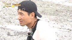 농게 상황 체크🦀 고작 5마리 잡은 김정환🤣, MBC 211025 방송