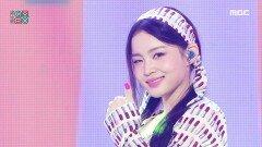이하이 - 빨간 립스틱 (LeeHi - Red Lipstick), MBC 210911 방송