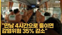 """""""추석 만남 4시간으로 줄이면 감염위험 35% 감소"""" [이슈픽]"""