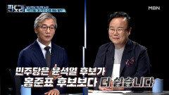민주당은 홍준표보다는 윤석열이 만만하다(?) 역선택 논란! MBN 210906 방송