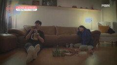[손발 오글 주의]수진을 향했(!)었던 준호의 세레나데 공개 MBN 210912 방송
