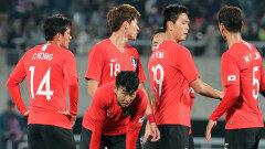 한국, 파나마전서 두 골 넣고도 무승부
