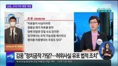 """[OBS 뉴스 오늘] ′고발 사주′ 키맨 김웅 """"고발장 받았는지 기억 안 나"""""""