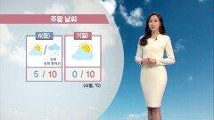 [03/05] ′경칩′, 포근한 날씨…내일 강원 영동 많은 눈 (권하경 기상캐스터)