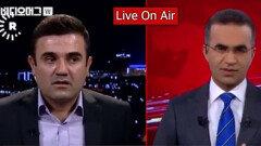 뉴스 생방송 도중 찾아온 지진의 공포...이것은 실제 상황