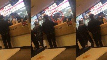 또 터진 맥도날드 갑질…점원 얼굴에 햄버거 던져
