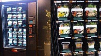 """""""땀방울 헛되지 않게""""…헬스장에 다이어트식 자판기 '인기'"""