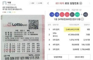 """""""아파트·외제차 살 예정""""…로또 1등 당첨된 고대생 후기"""