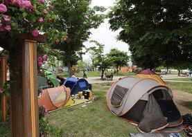 한강공원 닫힌 텐트 단속, 어떻게 생각하십니까?
