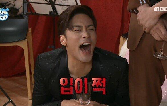 초대형 특급 초대 가수의 축하 공연...!!! 입이 쩍 벌어지는 초대 가수 전현무의 라이브♬, MBC 210611 방송