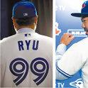 """""""99号""""柳贤振+""""1号""""山口俊,MLB球队投手背码首次出现这样的组合"""