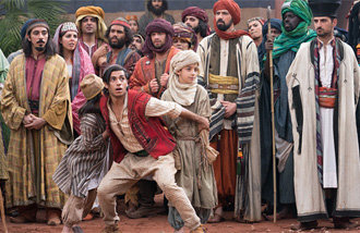 """好莱坞影片《阿拉丁》成为今年国内第三部达到""""千万观影人次""""的电影"""