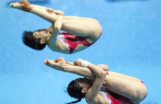中国跳水长期保持强势面貌的秘诀?
