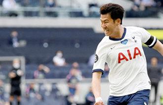 孙兴慜成为首位达成EPL10粒进球和10次助攻的亚洲球员