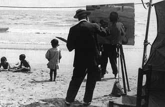 想去华金•索罗拉画中的大海