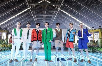 BTS《Butter》在Billboard HOT100排行榜连续9周占据第一…今年最长记录