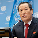 朝鮮常駐聯合國代表金成在聯合國要求美國歸還貨輪,展開輿論戰