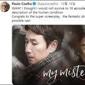 """""""煉金術士""""科埃略迷上的韓國電視劇是?"""