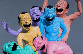 中國先鋒派藝術代表作家,他笑的理由是什麽?