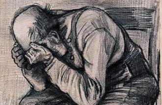 梵高29歲時畫的鉛筆素描畫時隔100年後公開