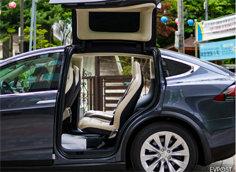 테슬라 모델X 6인승 캠핑 차박 세팅법 – TESLA Model X 6 Seater Airmat