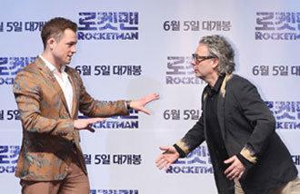 Rocketman star Taron Egerton visits Seoul