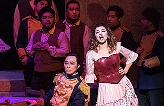 Opera Carmen performed at Seoul Arts Center