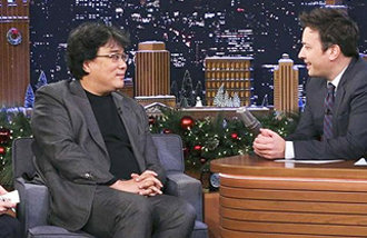 The Tonight Show makes an exception for Bong Joon-ho