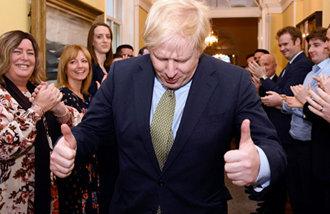 Conservative Party secures a landslide win in UK election