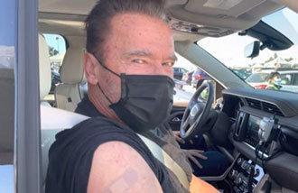 Arnold Schwarzenegger posts vaccination video on YouTube